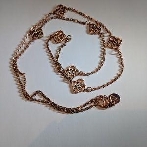 Dyadema Jewelry Rose Gold Necklace Poshmark